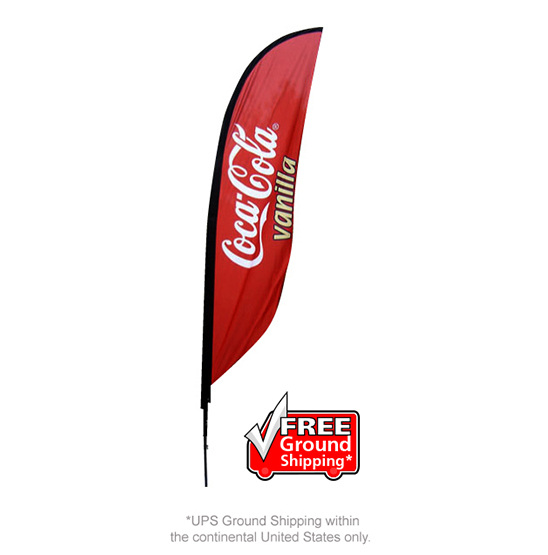 3ftx2ft WITH FREE DESIGN CUSTOM PRINTED FLAG BANNER